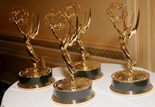 The Emmys ceremony airs September 17 on NBC with Colin Jost and Michael Che of 'Saturday Night Live' as hosts