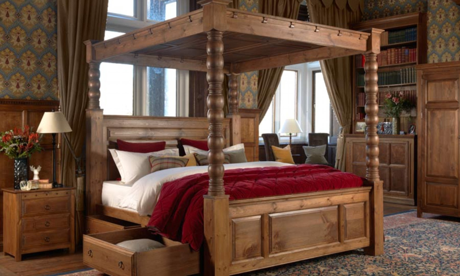 think four poster beds are dated wake up they re statement pieces that ll transform your bedroom daily mail online