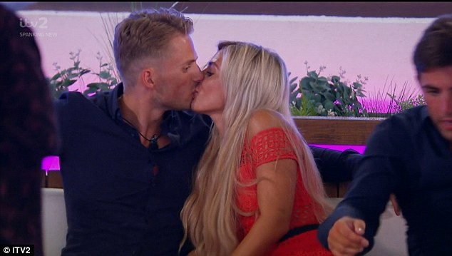 Coupled up:The duo have been inseparable since locking eyes on one another for the first time two weeks ago, and Charlie proved just how hard he's fallen with his grand gesture