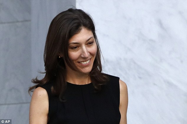While her former lover's hearing was a disaster, Lisa Page walked out of hers on Friday smiling
