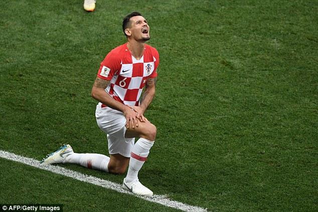 Croatia defender Dejan Lovren has hit out at France's tactics after Sunday's World Cup final