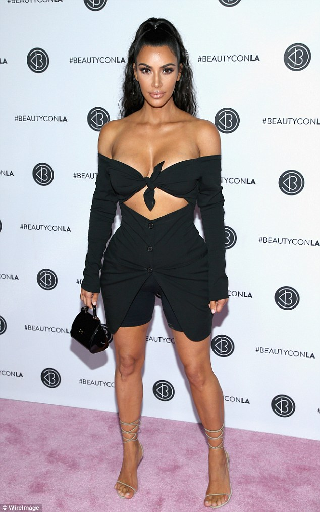 If you've got it!Kim Kardashian continued to captivate as she attended the event