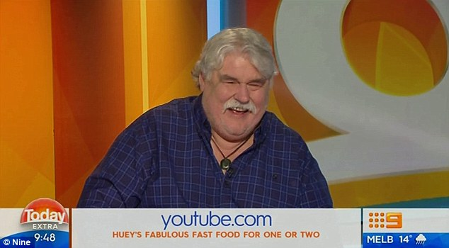 'Have we lost our minds?' During an interview on Today Extra on Monday Iain 'Huey' Hewitson (pictured) slammed a hipster restaurant that served 'deconstructed Vegemite on toast' for $7
