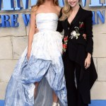 Lily James Stuns at the Mamma Mia! Here We Go Again premiere in London