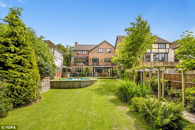 This six-bedroom detached house in Keston, Bromley, has several points of interest in the garden and is for sale via Yopa estate agents for £1.5m