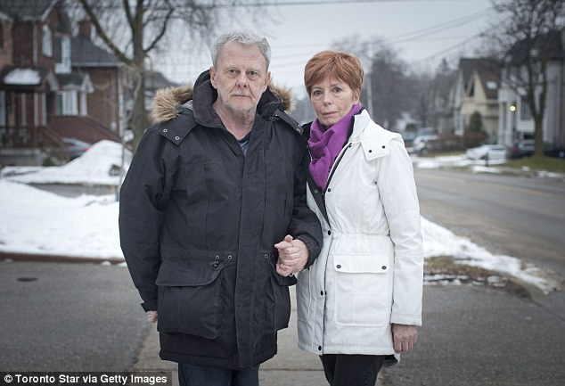 The house did not belong to McArthur, but rather to couple Ron Smith and Karen Fraser (above) who were horrified to learn how much their property had been used by McArthur.