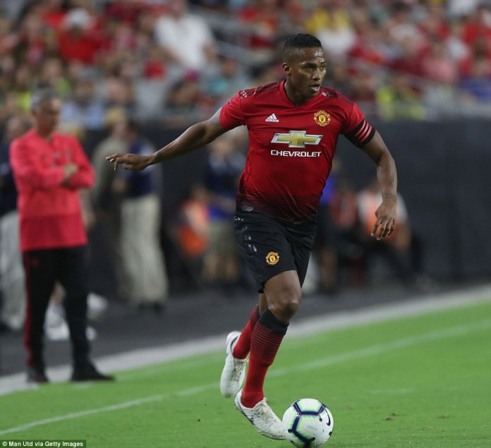 Antonio Valencia captained the team and was always an attacking threat down the right side