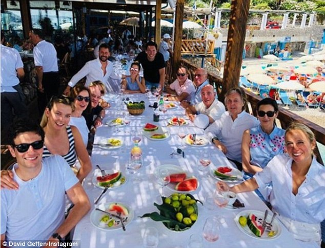 Paul McCartney And Nancy Shevell Sail Around Italy Daily