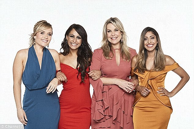 Real life: The show follows four single women, three divorced and one widow, who return to the dating scene after their grief . Unfortunately for Matthew and Channel Seven, the show did not perform well in TV standings