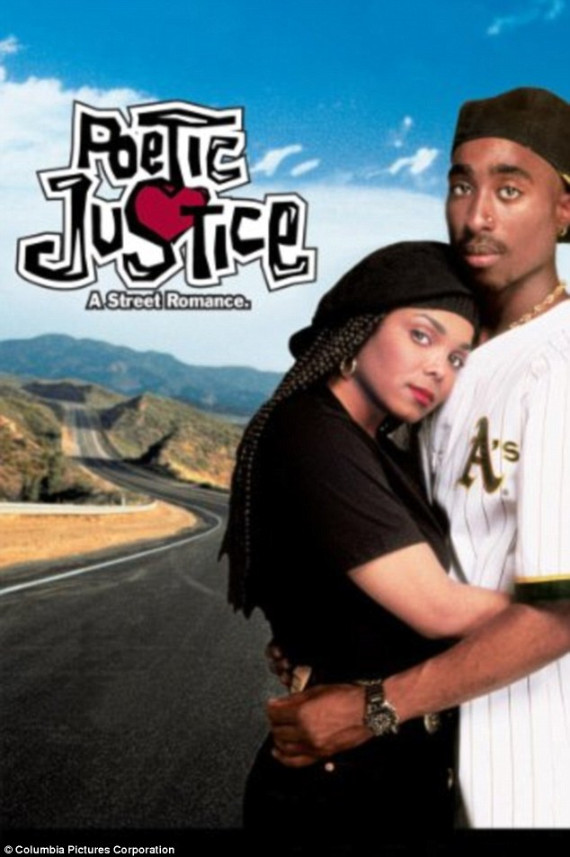 Remembering: Meanwhile, Janet also took time Monday to pay tribute to late rapper Tupac Shakur as she commemorated the 25th anniversary of the release of their movie Poetic Justice