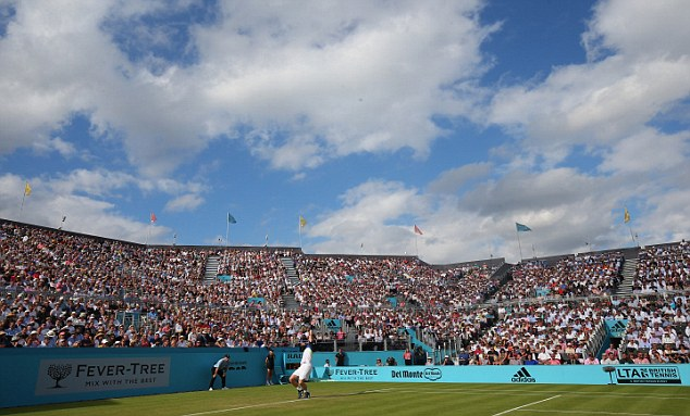 Fever-Tree sponsored this year's lawn tennis championships at Queen's Club, London