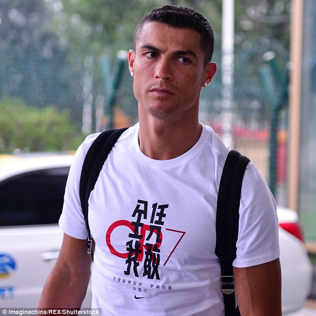 Steady:Pro footballer and international heartthrob Cristiano Ronaldo found himself at number three in 2018, the same spot on the list he held in 2017