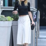 Amber Heard chic style in LA