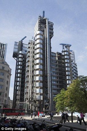 Iconic: Lloyds Building in the City of London