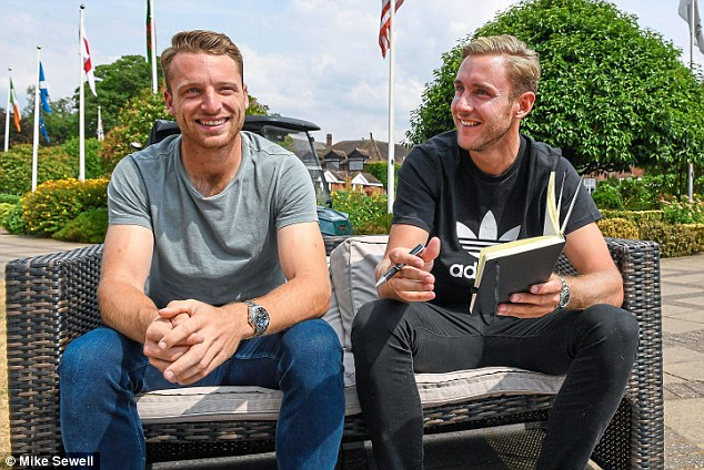 Broad became the interviewer as he spoke to Buttler in a candid interview for Sportsmail