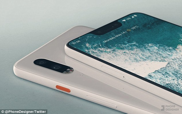 Savvy Twitter user @PhoneDesigner created renderings of what the Pixel 3 and Pixel 3 XL could look like based on leaked images of what claim to show their screen protectors