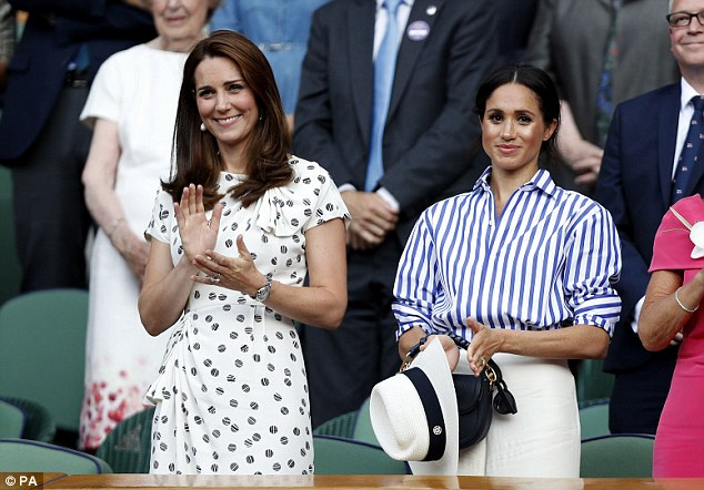 The Duchess of Cambridge, 36, has reportedly recommended one her favourite beauty products to Meghan - who she attended Wimbledon with in July 2018 - to keep her skin glowing amid the pressures of royal life