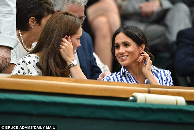 Kate and Harry's new wife are said to be developing their friendship and the Duchess has been suporting her new sister-in-law amid her heartache over her father's continued outbursts. The pair attended the Ladies Single's Final at Wimbledon in July 2018