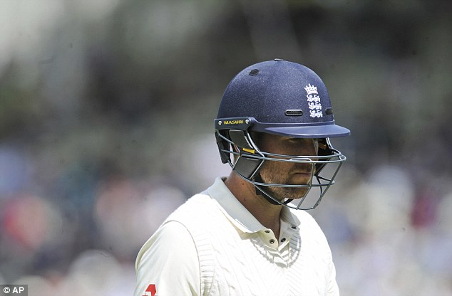 Dawid Malan could be playing for his place when he walks out for England's second innings