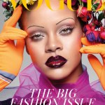 Rihanna talks about being healthy on the cover of British Vogue