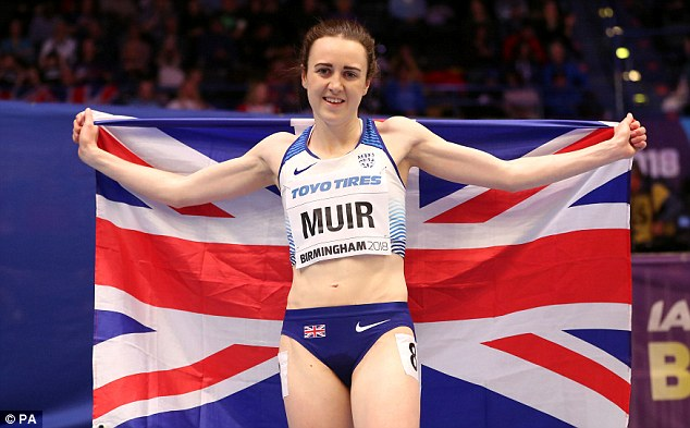 Laura Muir  andJemma Reekie have dates in the1,500metres at the European Championships