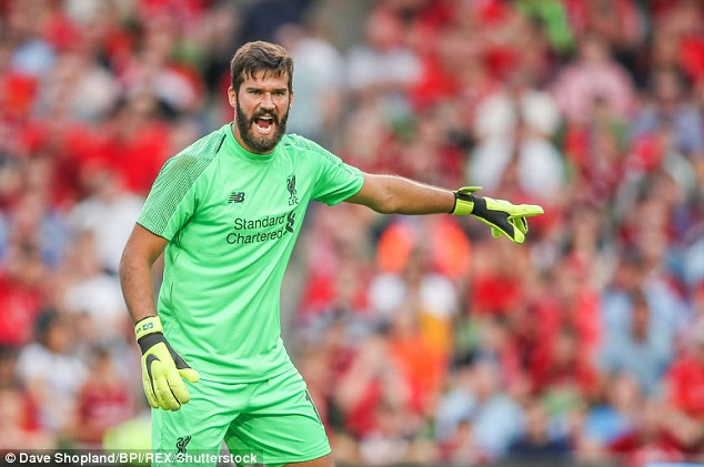 Andy Robertson has heaped praise on Alisson for his distribution against Napoli on Saturday