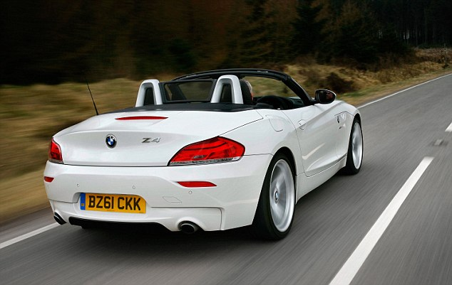 With the temperatures soaring, convertible cars - like this BMW Z4 - are in high demand. Criminals know this and are creating false ads