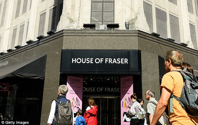 Brookstone was bought by Sanpower in 2014 at the same time as it paid £480m for House of Fraser, has filed for bankruptcy in the US