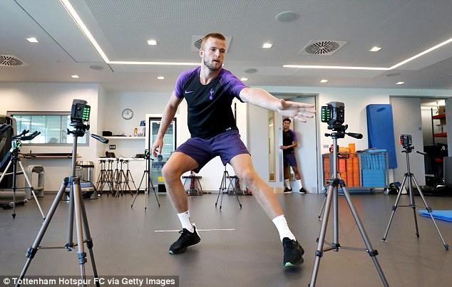 Tottenham's players are busy preparing for the new season and are craving success