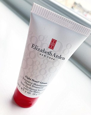 Whether you have dry skin, chapped lips, terrible cuticles, flyaway hairs or just need to highlight your cheek and brow bones, 8 Hour Cream or Protectant can help (pictured)