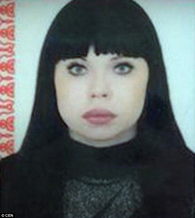 Police found remains of their victim Elena Vashrusheva (pictured), 35, at the couple's home
