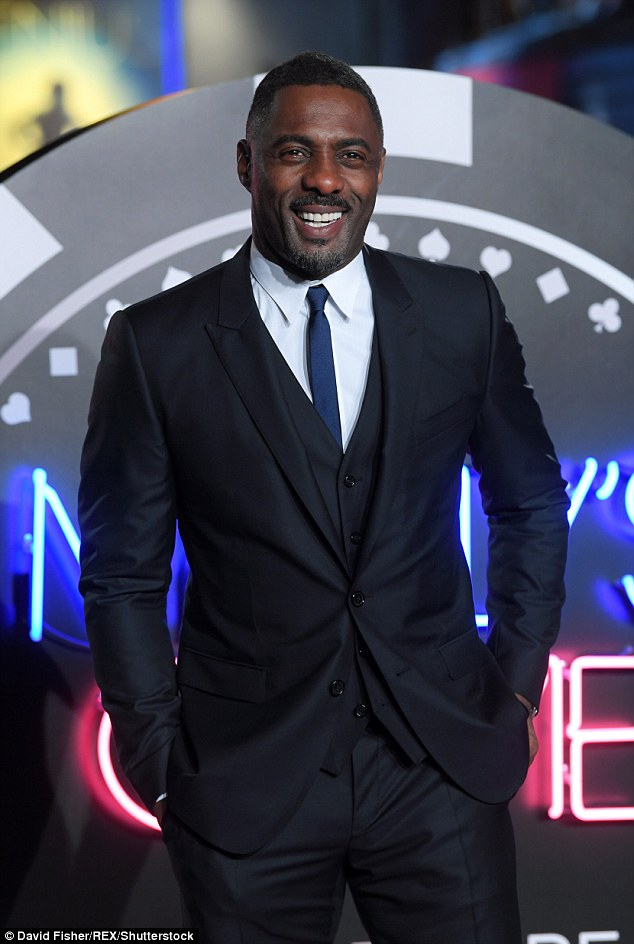 Front-runner? His tweet comes just days after Bond producer Barbara Broccoli said 'it is time' for a non-white leading man to play the character