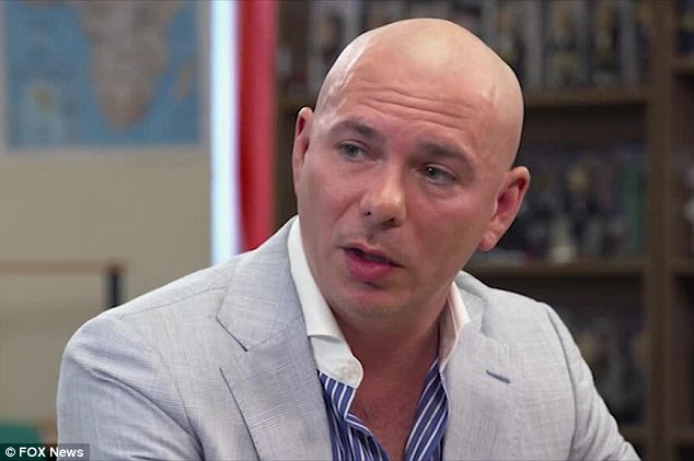 Pitbull will open up about his parents' drug addiction in the next episode of Fox News' OBJECTified