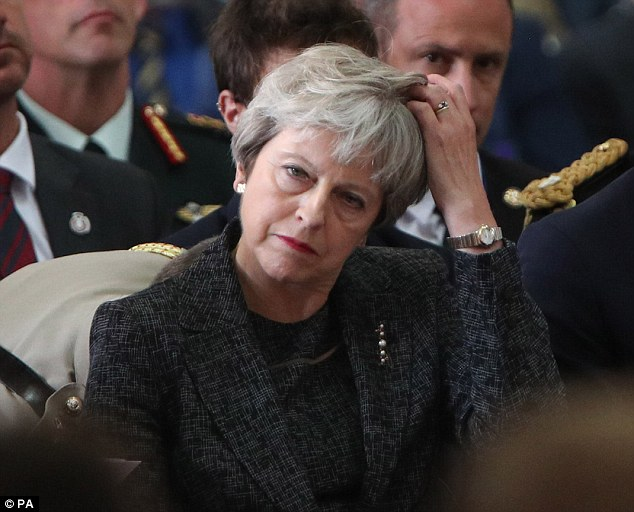 Boris Johnson has refused calls to apologise despite Theresa May (pictured) saying that his remarks caused offence