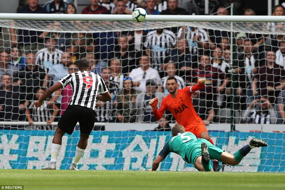 New arrival Salomon Rondon almost earned a point for the home side but his deflected shot came back off the crossbar