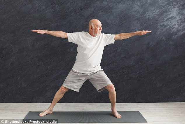 Yoga is a great way to promote greater mobility, but beginners must start slowly and steadily (file photo)
