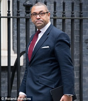 James Cleverly has his own foolproof way of combatting cashpoint crime
