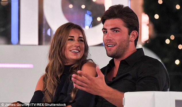 Mark Gard's reality TV champion son, who won the latest series of Love Island with Dani Dyer (pictured together during the final episode), reportedly 'wants nothing to do with his father'