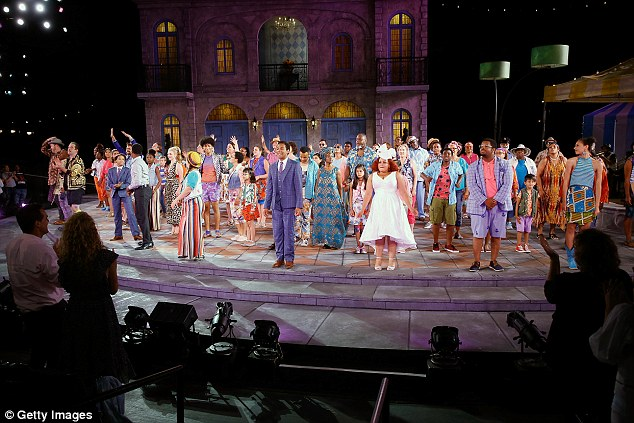 Another plea for help regarding helicopter noise came to Nixon in 2014 from the Artistic Director overseeing Shakespeare in the Park. Pictured: Twelfth Night in Central Park in 2018