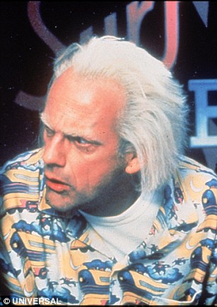 Willing to go back:Lloyd - who provided his voice for all three movies, the video game, the animated TV series, the Universal Studios ride and the 2015 short film Doc Brown Saves The World - did say he would be open to a fourth film when asked in 2015