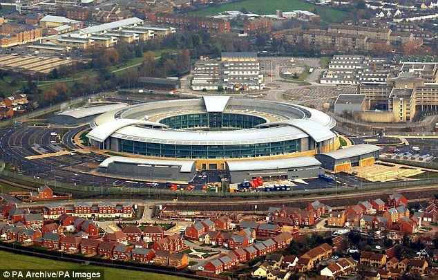 Jeremy Fleming, head of eavesdropping agency GCHQ (pictured), said ¿fifth generation¿ mobile services, 5G, risk being hacked into by hostile states or terrorists