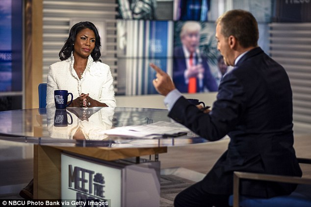 Manigault Newman gave NBC News the recording on Sunday, opening her up to accusations of a national security breach