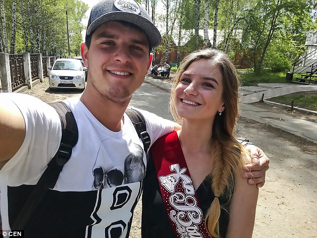 Horrifying: The 18-year-old's dead body was found by her brother, 22-year-old Sertan, pictured left with Yulia