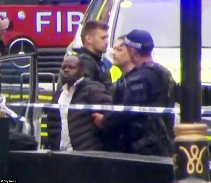 Salih Khater, 29, veered off the road careering into pedestrians and cyclists at Parliament Square, after spending the night cruising around London