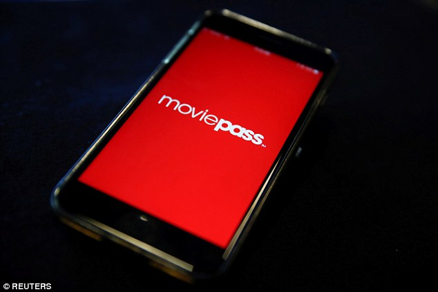 MoviePass, a U.S. movie ticket subscription app, is seen on a mobile phone in this photo illustration in New York, U.S., May 15, 2018. Its parent company posted Tuesday its second quarter fiscal results