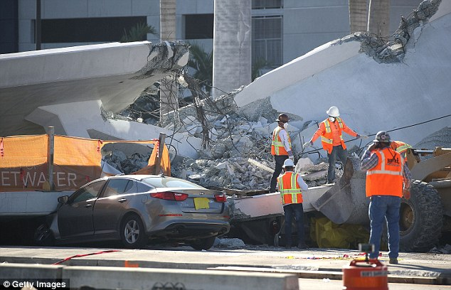 Five motorist were killed when the bridge fell. A subcontractor who was out on the bridge, also died