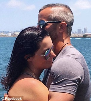 Watts and Shanann are seen together in San Diego in June on an'earned lifestyle getaway' through her work selling health supplements for Le-vel