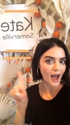 Lucy Hale's style in LA