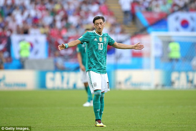 The 29-year-old was made one of the scapegoats for Germany's early World Cup exit