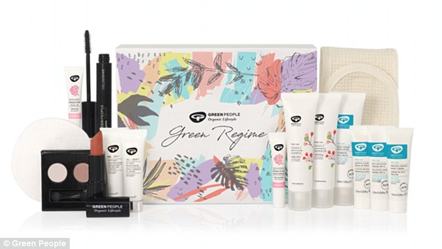 The first beauty advent calendar from Green People 15 delightful organic skin, hair and beauty treats in 100 per cent recyclable packaging, including Fruitful Nights Night Cream, special edition Damask Rose lipstick, lash-lengthening mascara and illuminating eyeshadow duo. Costing £75, it contains £150 worth of products